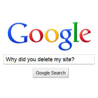 Google deindexing sniper sites